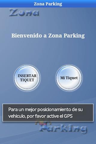 ZONA PARKING- screenshot