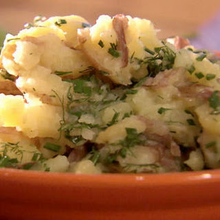 Boiled Potatoes with Butter Recipe