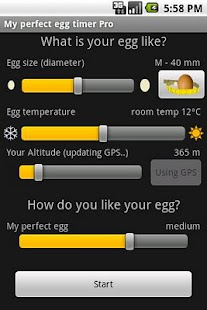 My perfect egg timer PRO - screenshot thumbnail