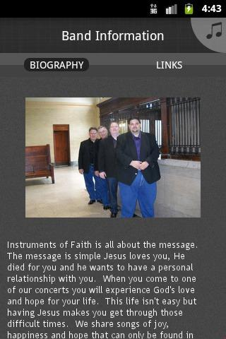 Instruments of Faith - screenshot