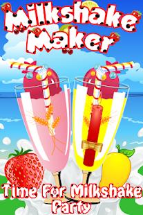 無料家庭片AppのMilkshake Maker - Shake Party|HotApp4Game