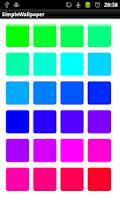 Screenshot of SimpleWallpaper