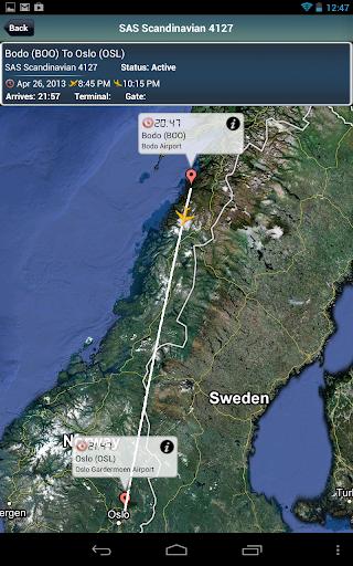 Oslo Airport + Flight Tracker