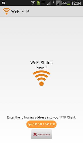 WiFi FTP WiFi File Transfer