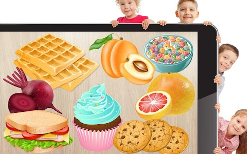 Food puzzle for kids- screenshot thumbnail