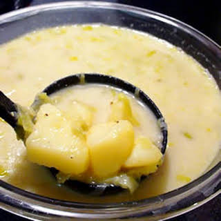 Real Potato Leek Soup.