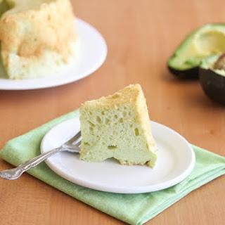 Avocado Chiffon Cake