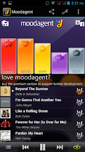 Moodagent Free - screenshot thumbnail