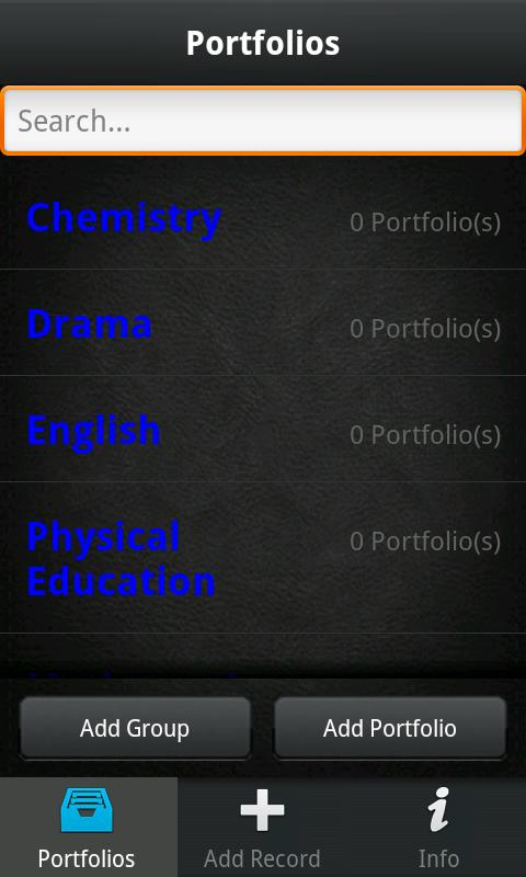 Easy Portfolio- screenshot