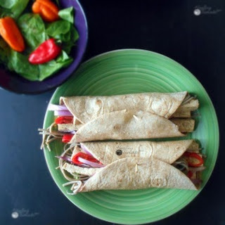 Vegan Tofu Wraps (Protein-Rich).
