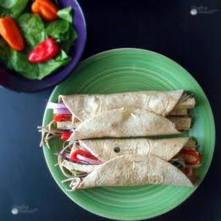 Vegan Tofu Wraps (Protein-Rich).