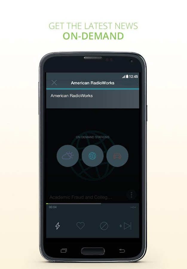Personal Radio by AUPEO!- screenshot