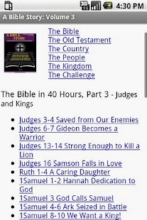 iBible Story: Volume 3- screenshot thumbnail