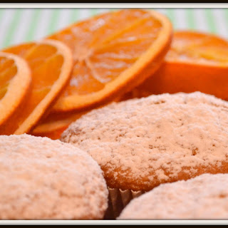 Orange Flavored Little Cupcakes Recipe