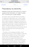 Screenshot of Dziennik Gazeta Prawna