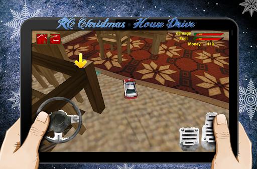 RC聖誕屋停車場3D