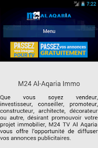 M24 TV Al Aqaria screenshot 0