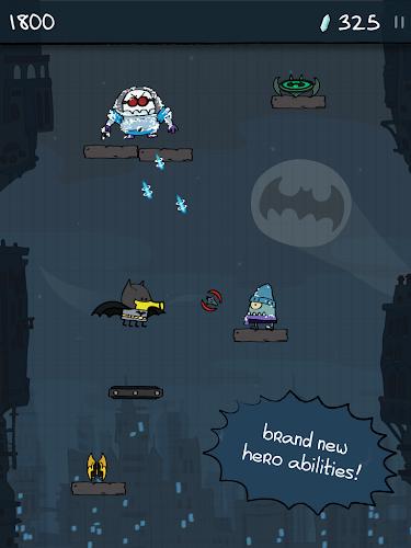 Doodle Jump DC Super Heroes - screenshot