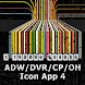 Icon App 4 ADW/OH/DVR/CP