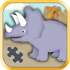 Kids Dinosaur Games- Puzzles icon
