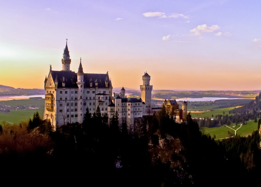Newschwanstein Castle Germany by Cameron Knudsen - Buildings & Architecture Other Exteriors (  )