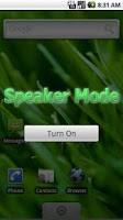 Screenshot of Speaker Mode