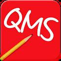 선거 문자 전용 어플 QMS logo