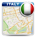 Italy Offline Road Map icon