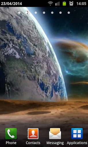 Earth From The Moon HD