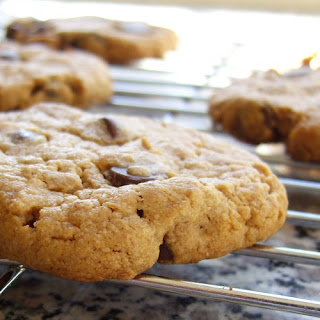 Easy Peasy Peanut Butter Chocolate Chip Cookies.