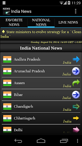 India : Live Web Newspapers