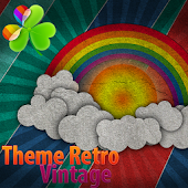 Theme Retro vintage Go laucher