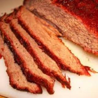 Barbecue Beef Brisket.