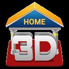 Lanzador 3D icon