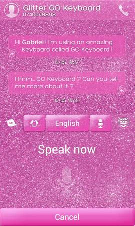 Glitter GO Keyboard Theme 3.87 screenshot 640274