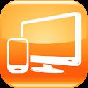 Orange TV icon