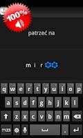 Screenshot of Speeq Polish | Spanish free