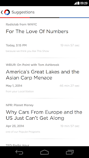 NPR One - screenshot thumbnail