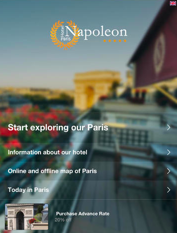 Hotel Napoleon - screenshot
