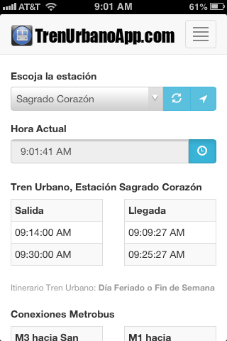 Tren Urbano App
