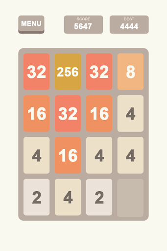 2048 - Number Puzzle Game