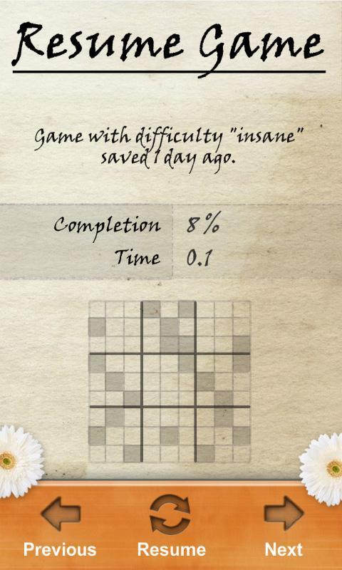 Sudoku ~ Free Puzzle Game - screenshot