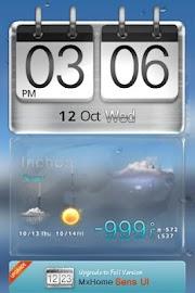 Sense HTC style MX Theme free Screenshot 1