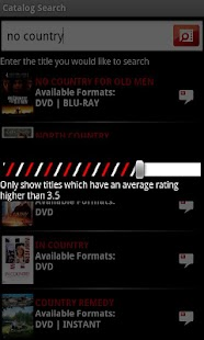 Catalog Search For Netflix Old - screenshot thumbnail
