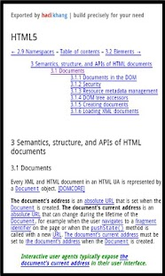 Dev Pocket Reference - HTML5 - screenshot thumbnail