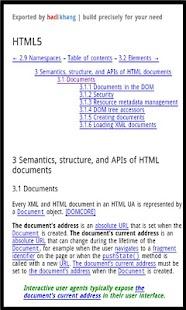 Dev Pocket Reference - HTML5 - screenshot thumbnail