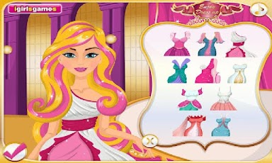 screenshot of Princess Barbie