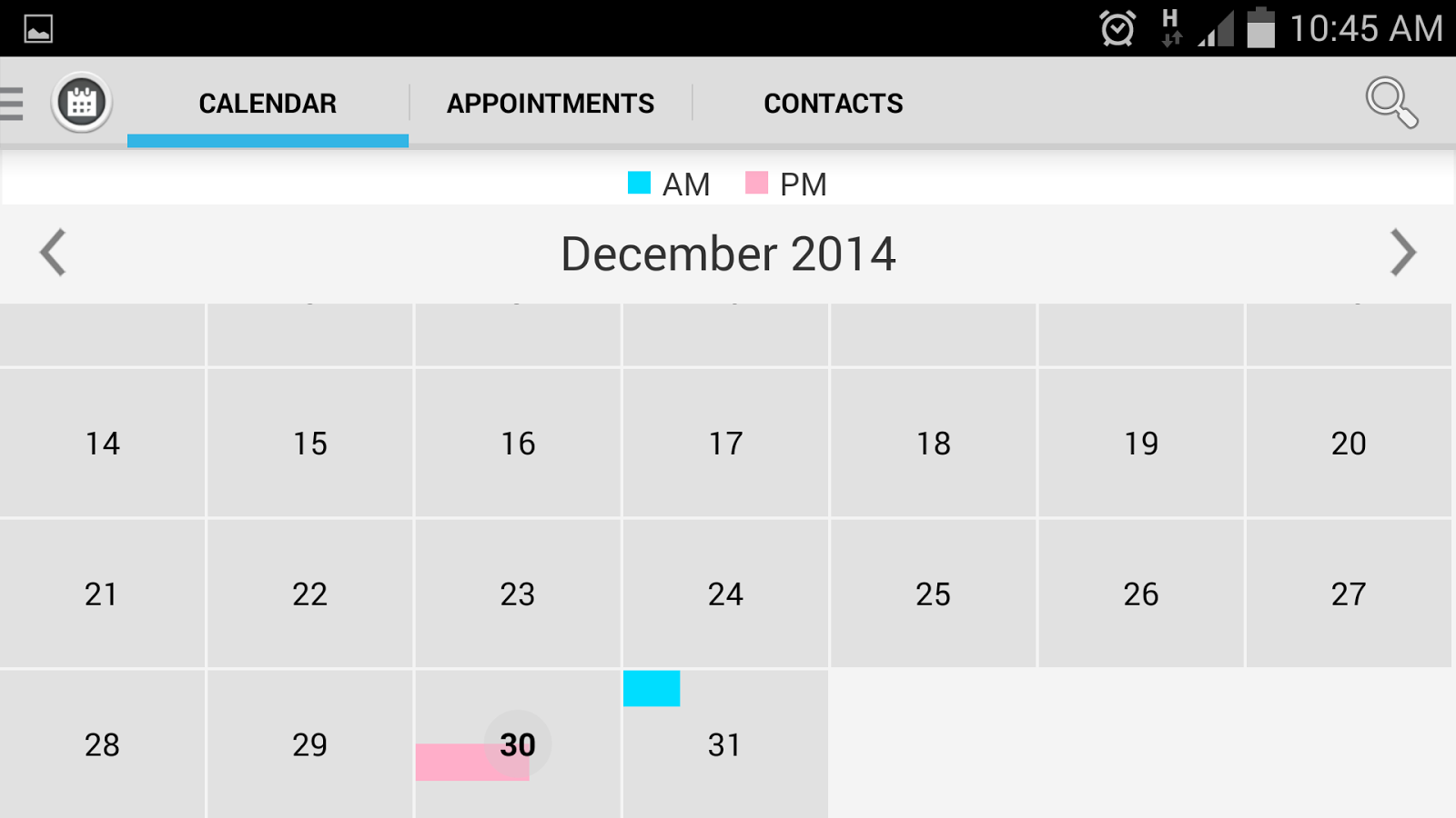 Appointment Manager- screenshot