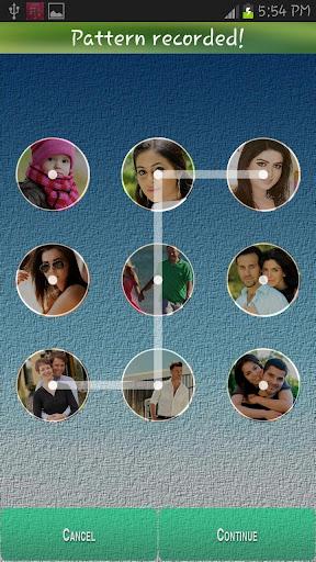 Pattern Photo Lock Screen