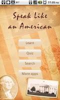 Screenshot of Speak Like an American